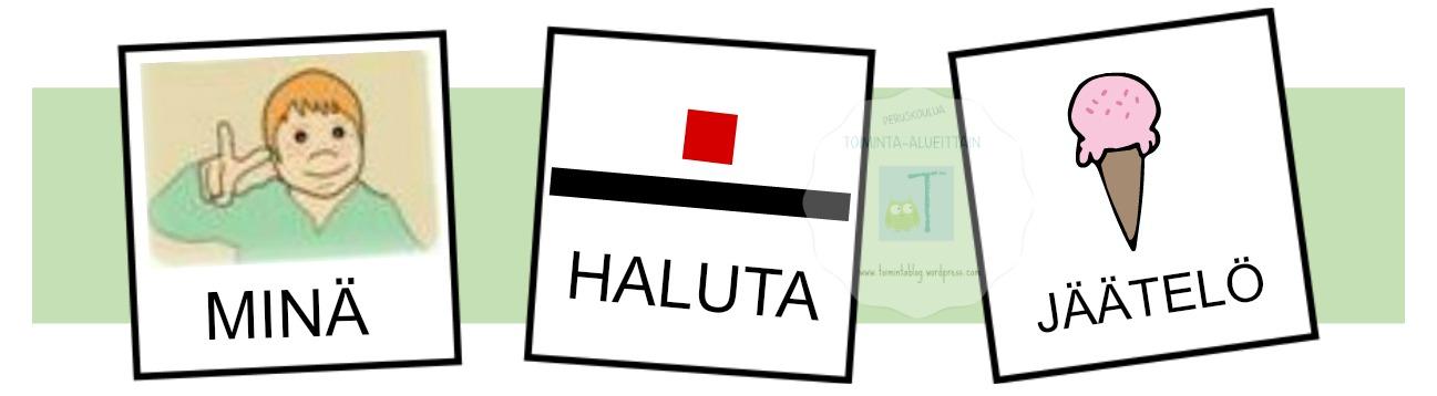 HALUTA JÄÄTELÖ